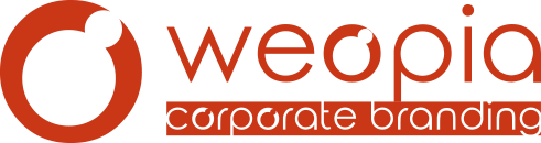 weopia - corporate branding